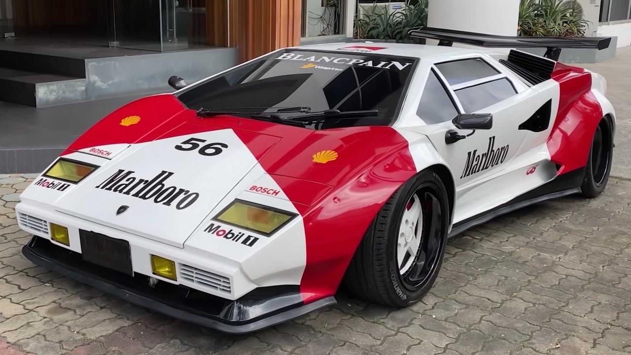 Lamborghini Countach replica... ou une Hyundai avec un V8 Lexus ! 1
