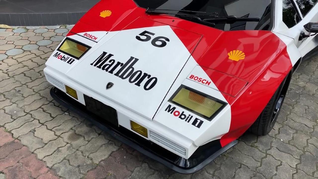 Lamborghini Countach replica... ou une Hyundai avec un V8 Lexus ! 4