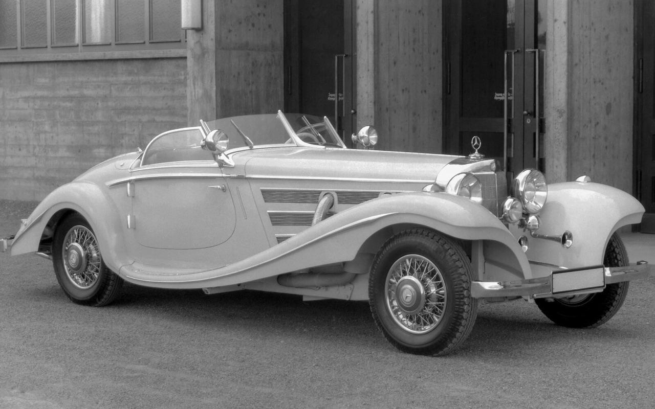 Mercedes 500K et 540K - Der Kaiser ! 1