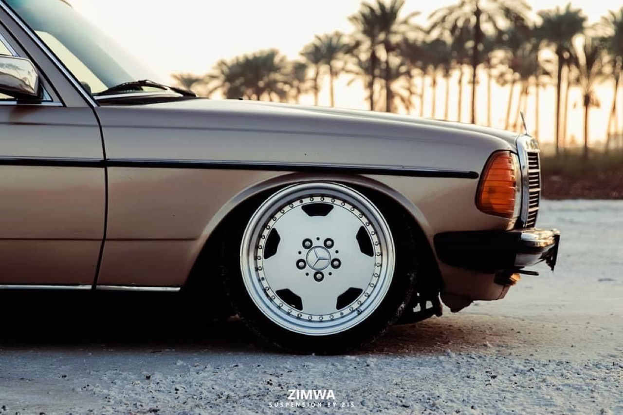Mercedes W123 - Air AMG... 11
