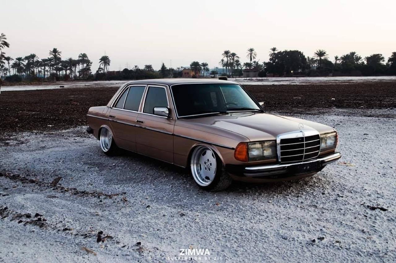 Mercedes W123 - Air AMG... 12