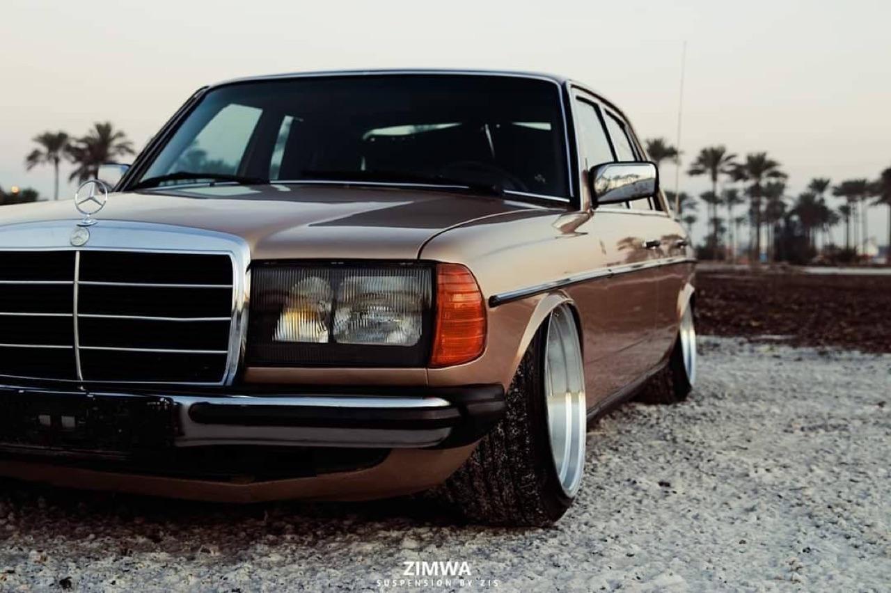 Mercedes W123 - Air AMG... 2