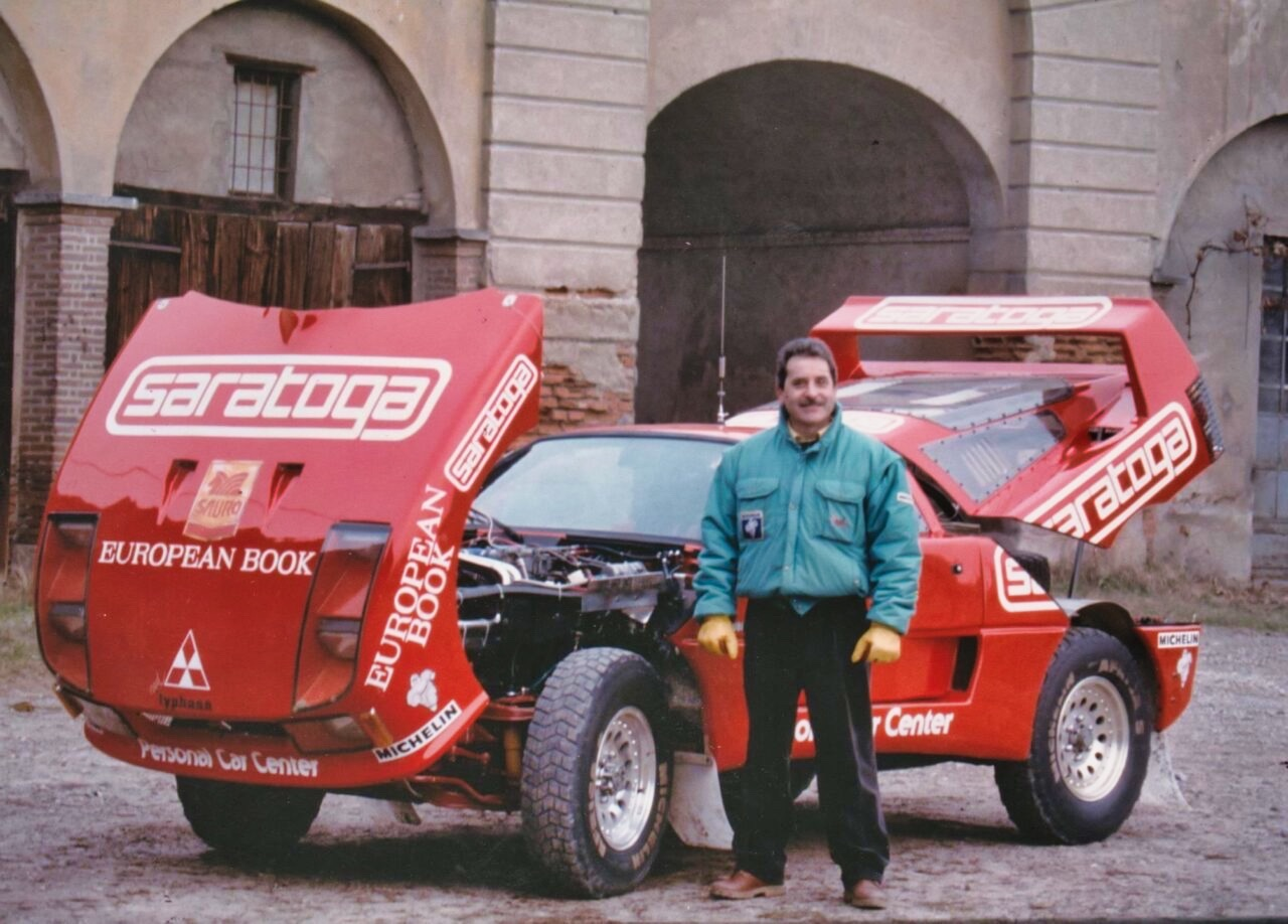 Red Typhoon ou F40 Pajero 4x4 : Une F40 au Paris Dakar ? 6