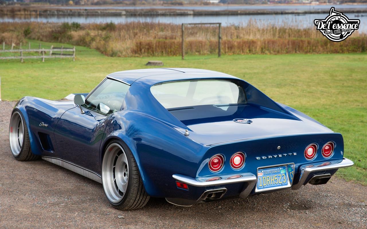 Corvette Stingray 1973 - Je suis une légende 4