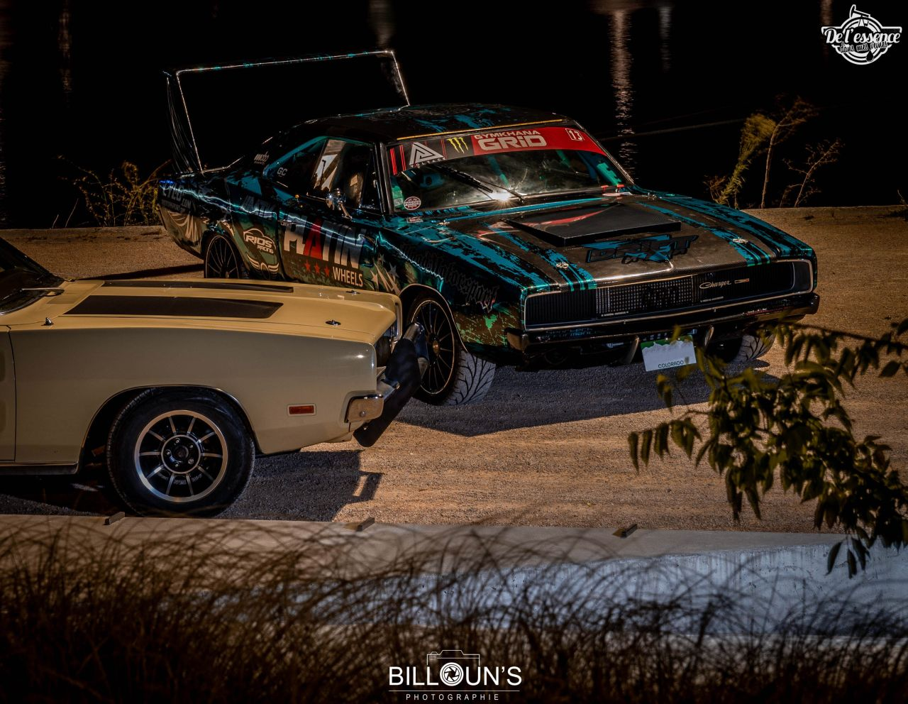 Duo de Dodge Charger - General Lee VS Hell Drifteuse ! 30