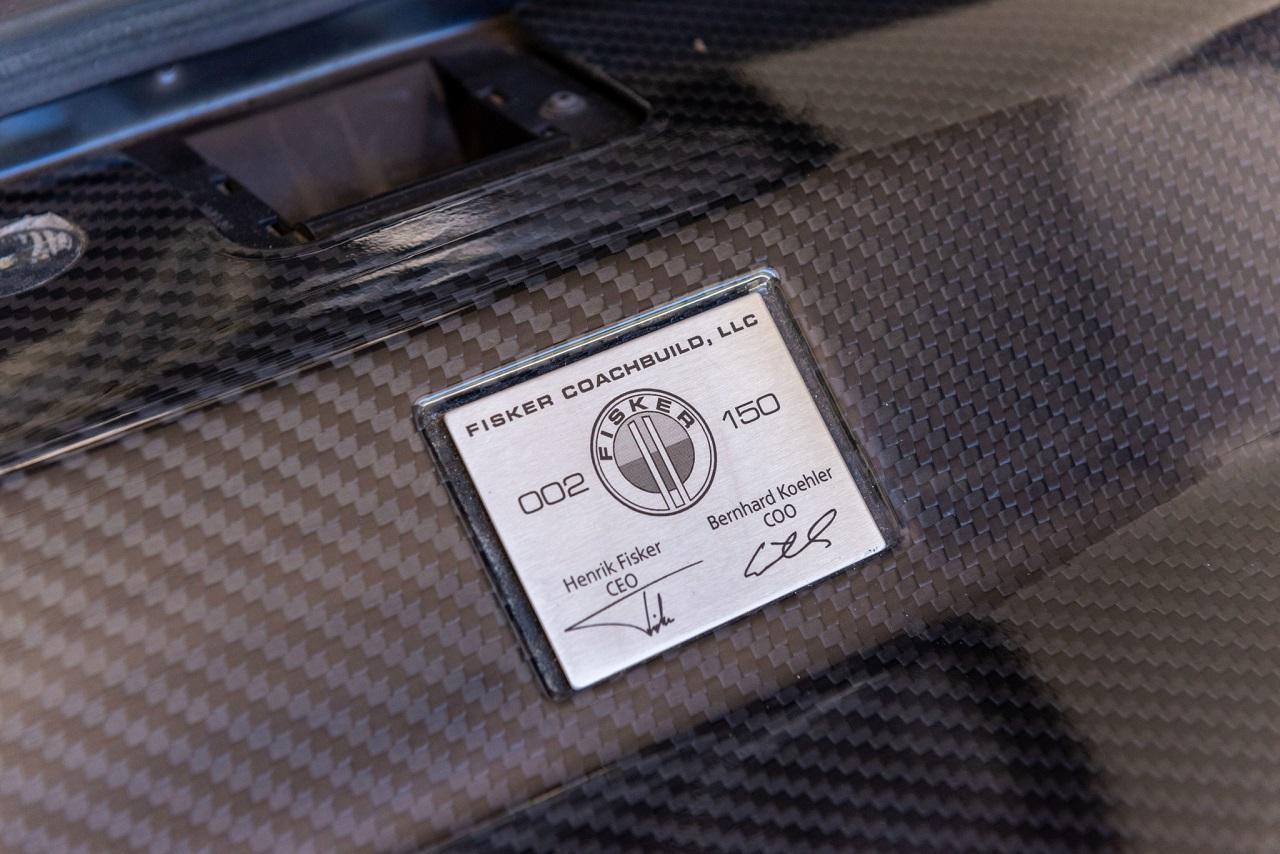 Fisker Tramonto - Luxe, discrétion et V12 ! 63