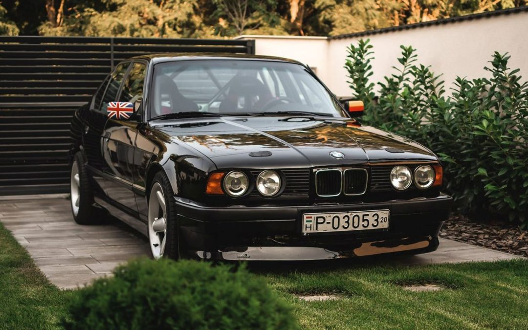 '94 BMW 540i E34 – En 6 en ligne compressé so British !