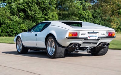 '72 De Tomaso Pantera… Restomod, mais pas trop !
