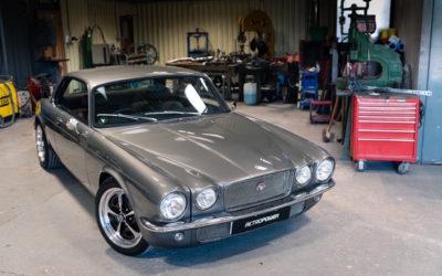 Jaguar XJC 430 Retropower… Ca sent le V8 et le restomod !