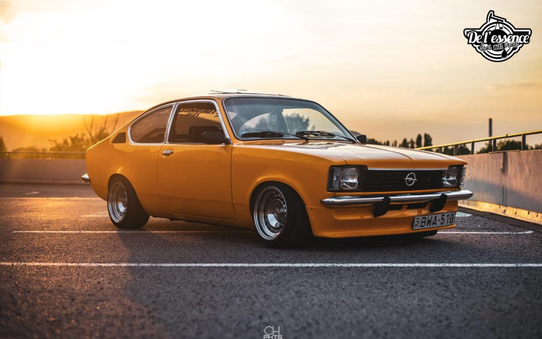 '76 Kadett 2.0L 16V… Gum burner !