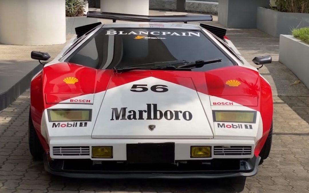 Lamborghini Countach replica… ou une Hyundai avec un V8 Lexus !
