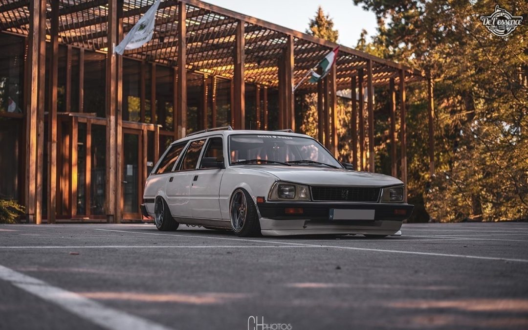Peugeot 505 Estate – Slammed Pug is back !
