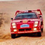 Red Typhoon ou F40 Pajero 4x4 : Une F40 au Paris Dakar ?