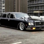 Bagged Toyota Century II V12 - A tes souhaits !