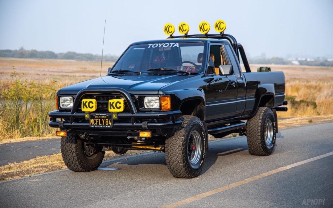 Toyota SR5 Xtra Cab… Y'a pas que la De Lorean !
