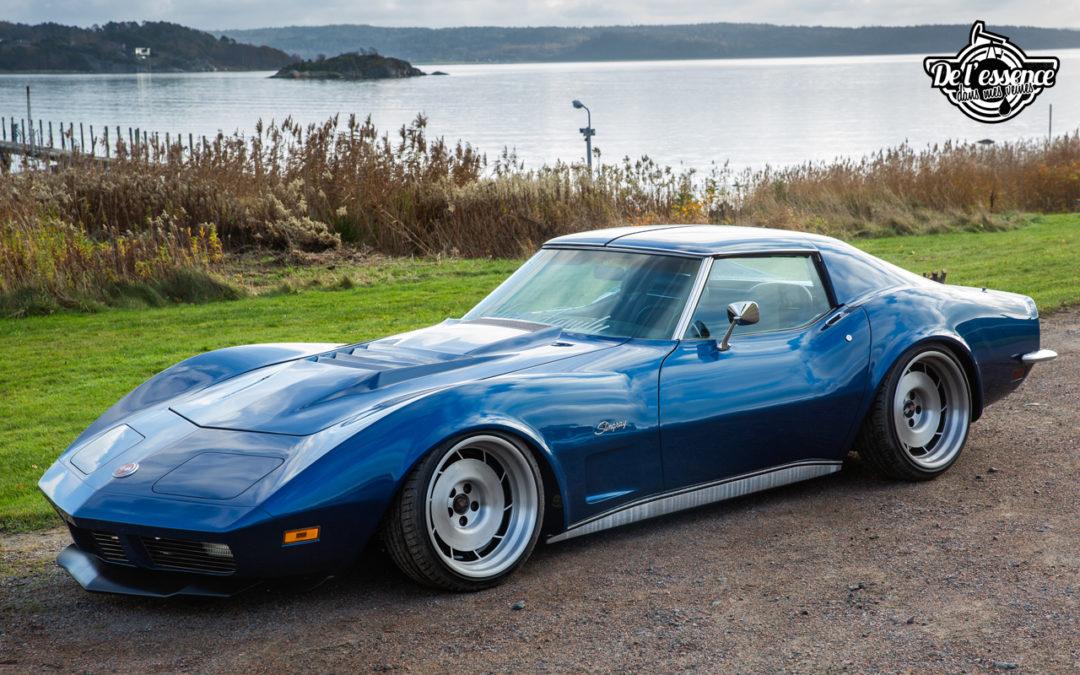 Corvette Stingray 1973 – Je suis une légende