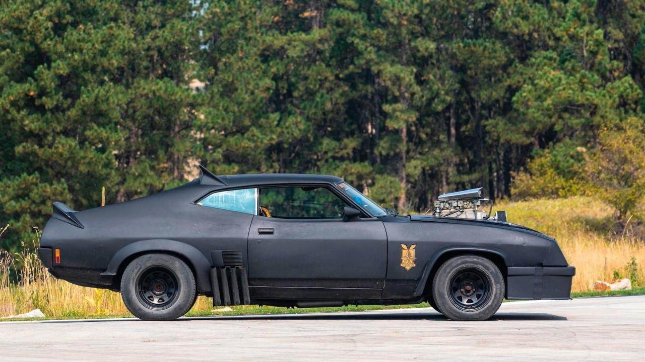 #Car Mytho : L'interceptor de Mad Max... Du cuir et du petrol ! 6
