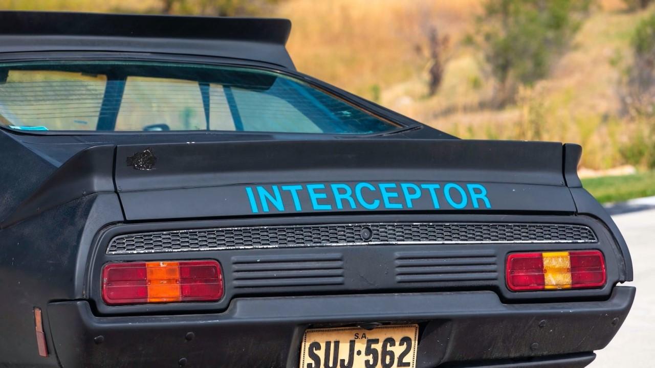 #Car Mytho : L'interceptor de Mad Max... Du cuir et du petrol ! 5
