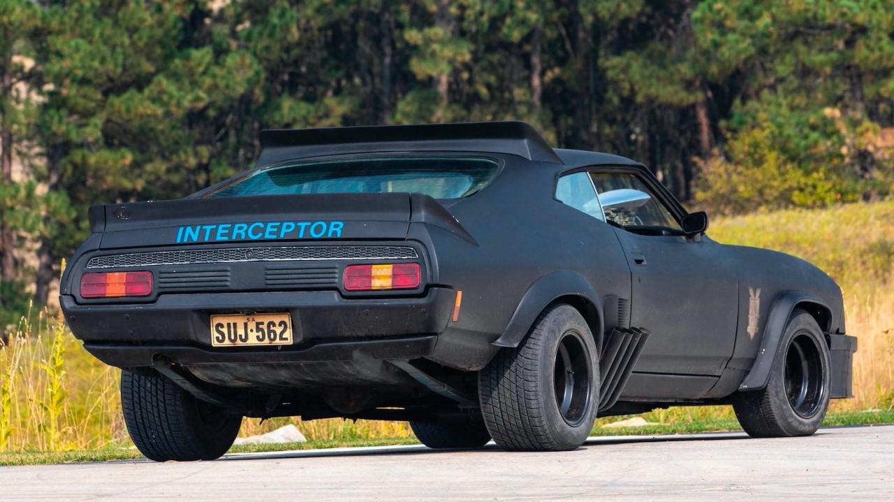 #Car Mytho : L'interceptor de Mad Max... Du cuir et du petrol ! 7