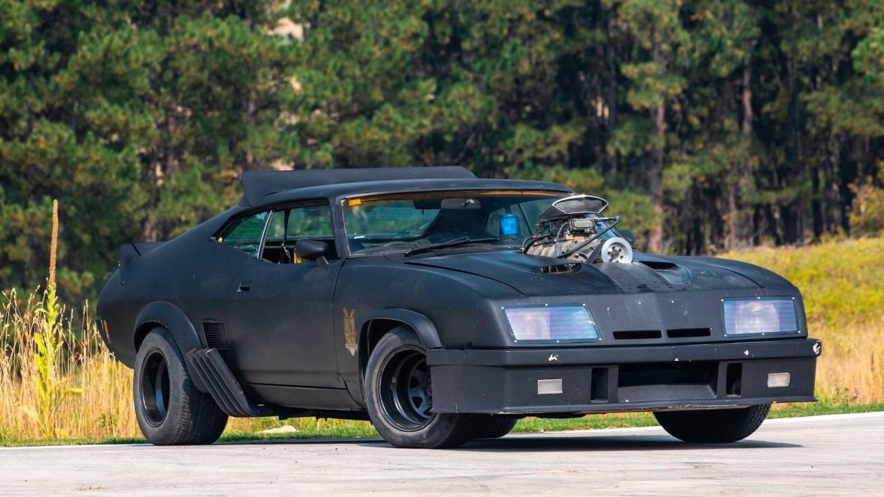 #Car Mytho : L'interceptor de Mad Max... Du cuir et du petrol ! 1