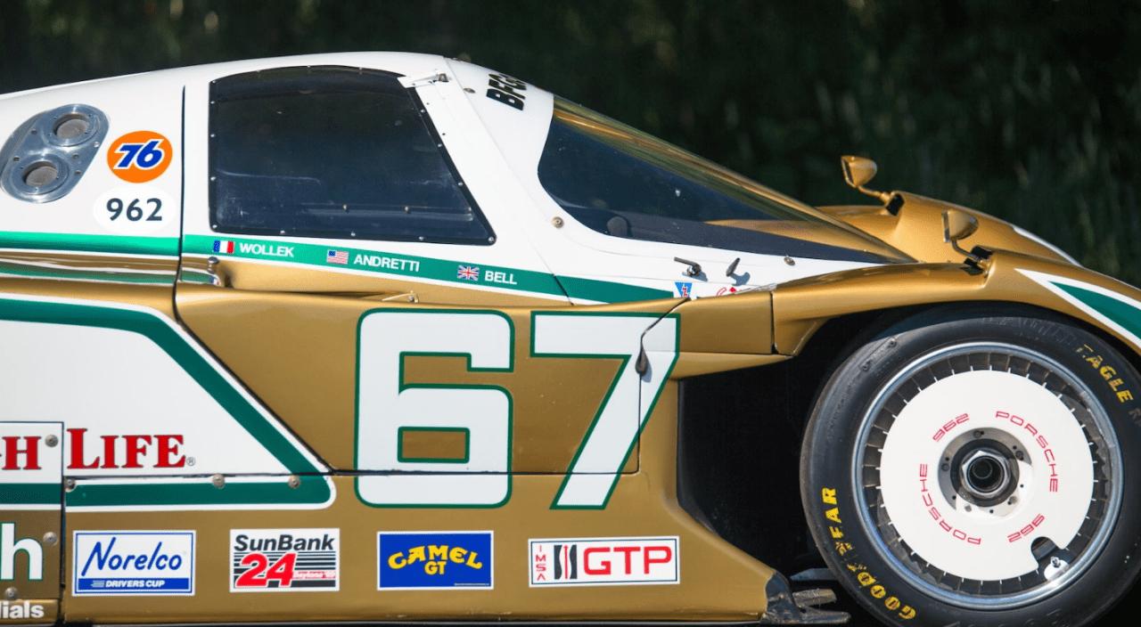 Porsche 962 108C - La bête dorée de Palm Beach 5