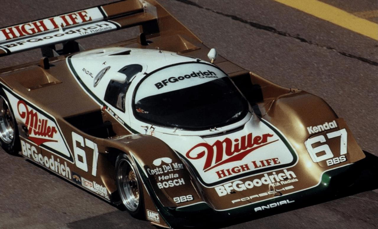 Porsche 962 108C - La bête dorée de Palm Beach 9