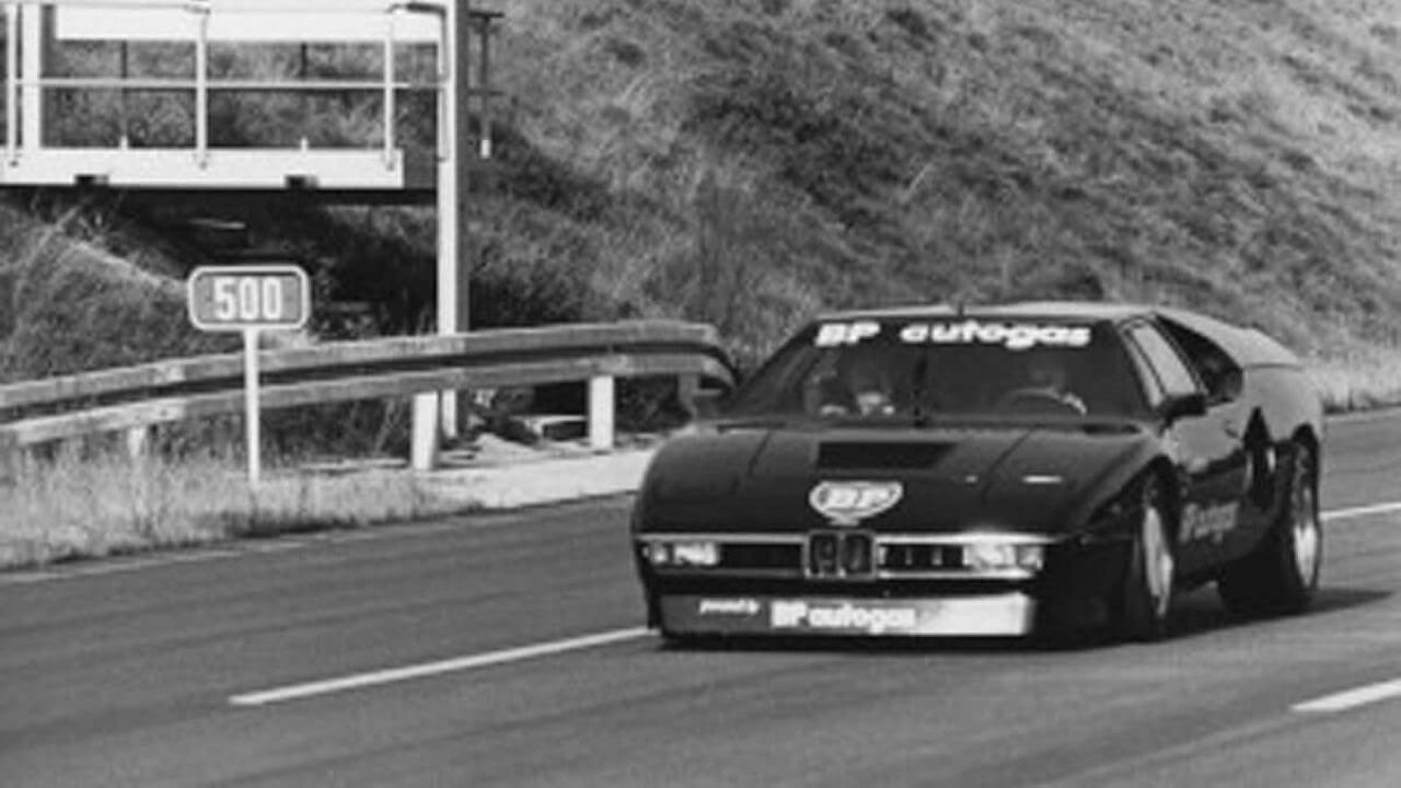 '81 BMW M1 Biturbo : Speed Record 44