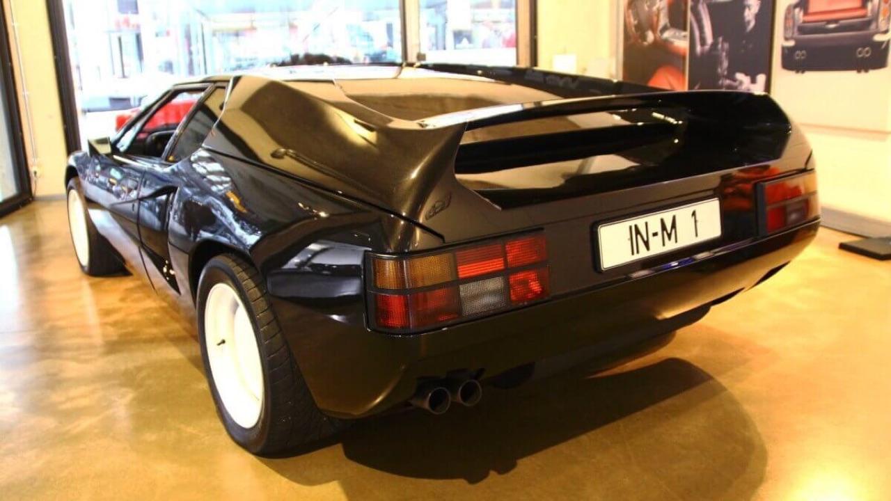 '81 BMW M1 Biturbo : Speed Record 49