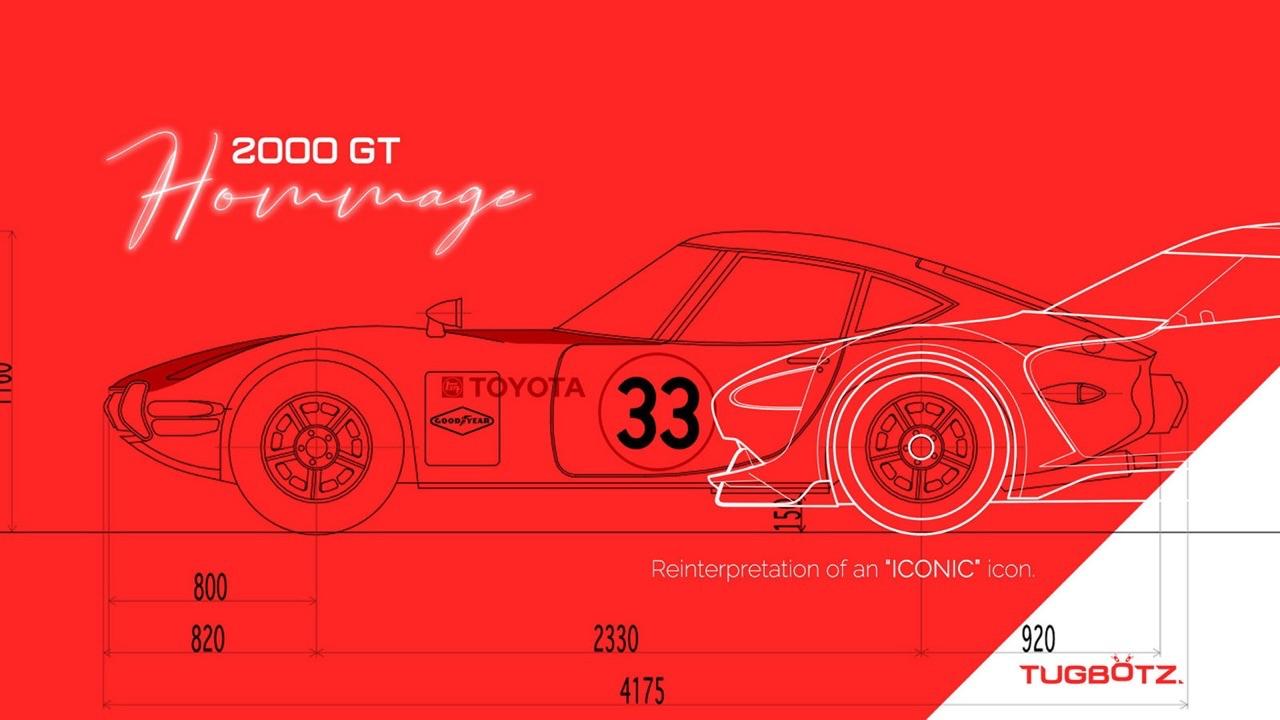 Toyota 2000 GT Hommage... Du rêve à la virtualité ! 1