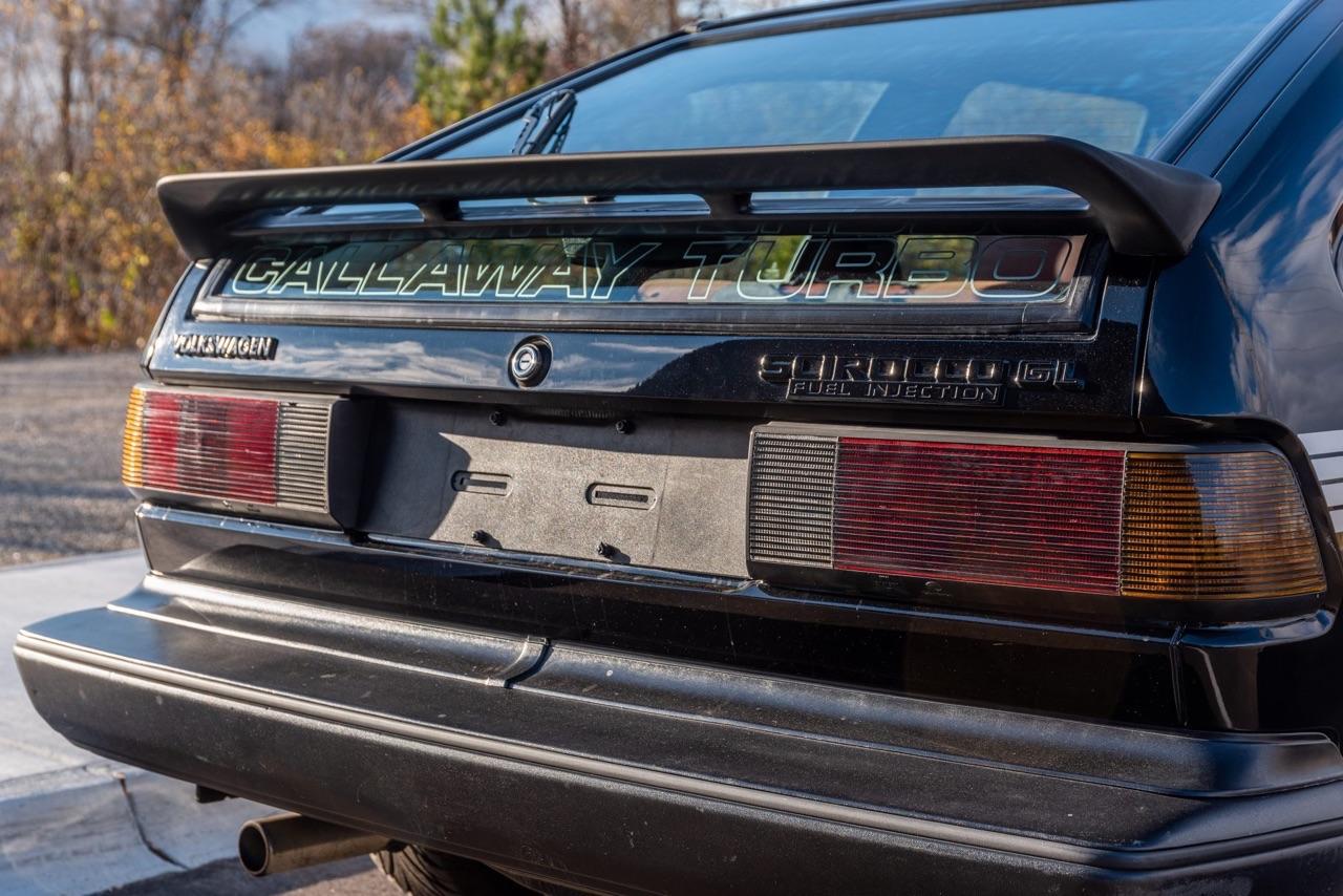 80's VW Scirocco et Golf Callaway Turbo... C'est quoi c'bordel ?! 48