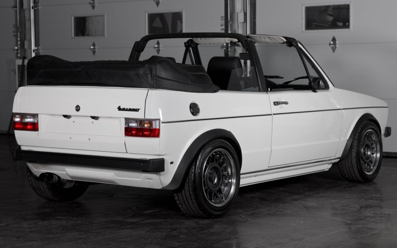 '86 VW Golf 1 Cab - Elle manque pas d'air ! 7