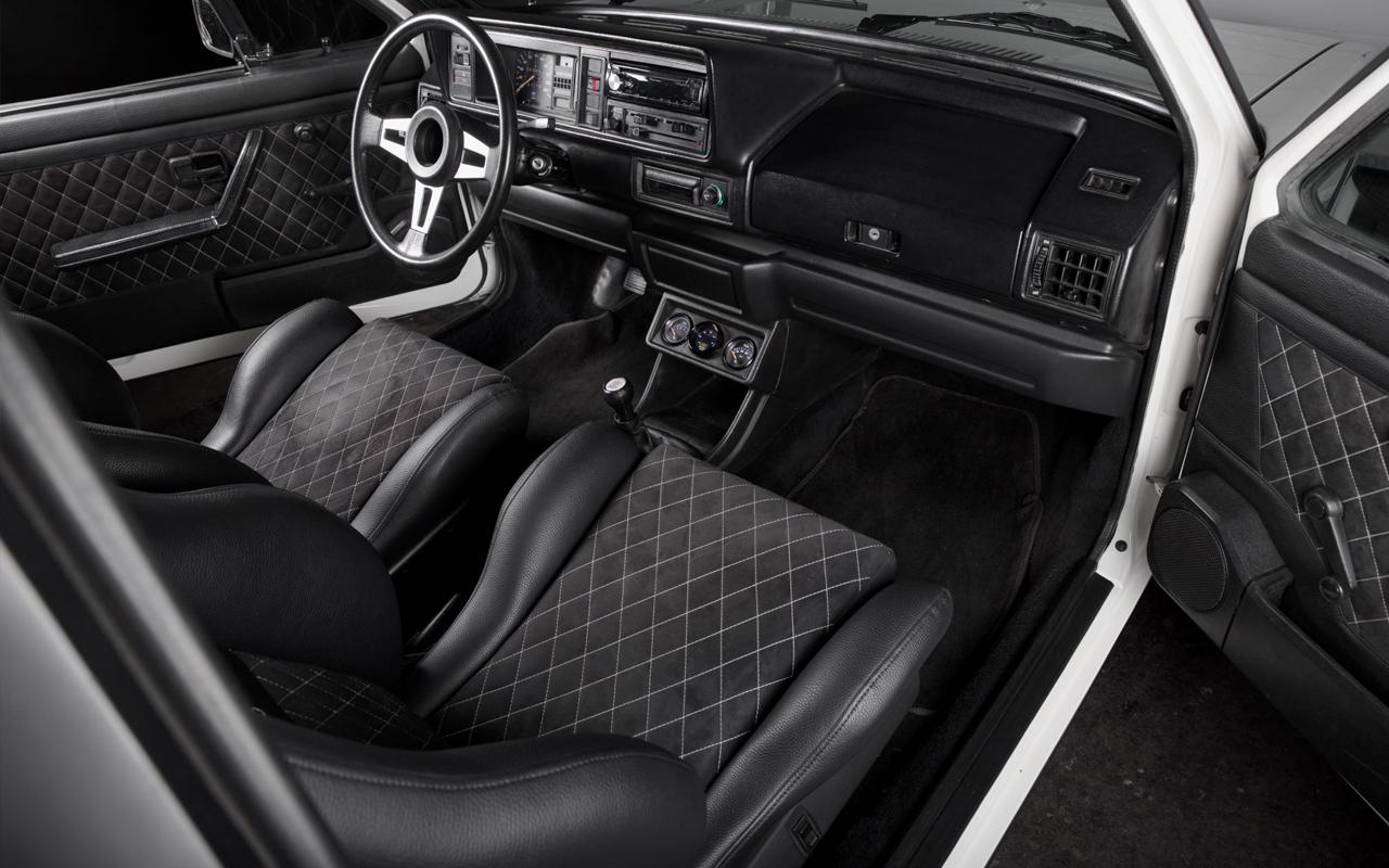 '86 VW Golf 1 Cab - Elle manque pas d'air ! 5
