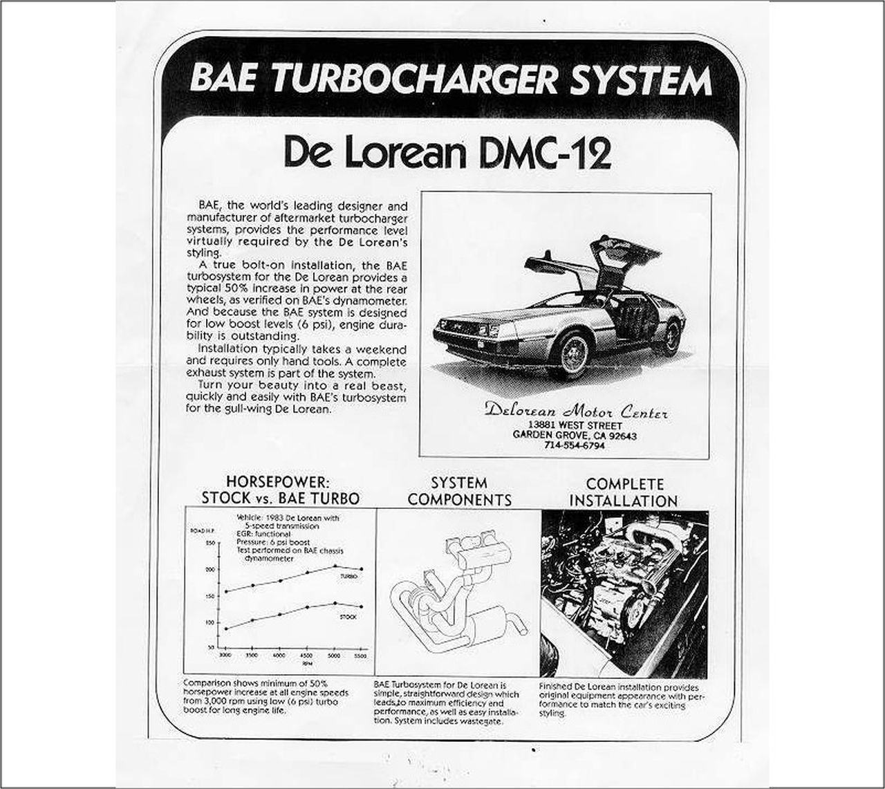 DeLorean DMC 12 en V6 Turbo - Back to the pschiiiit ! 28