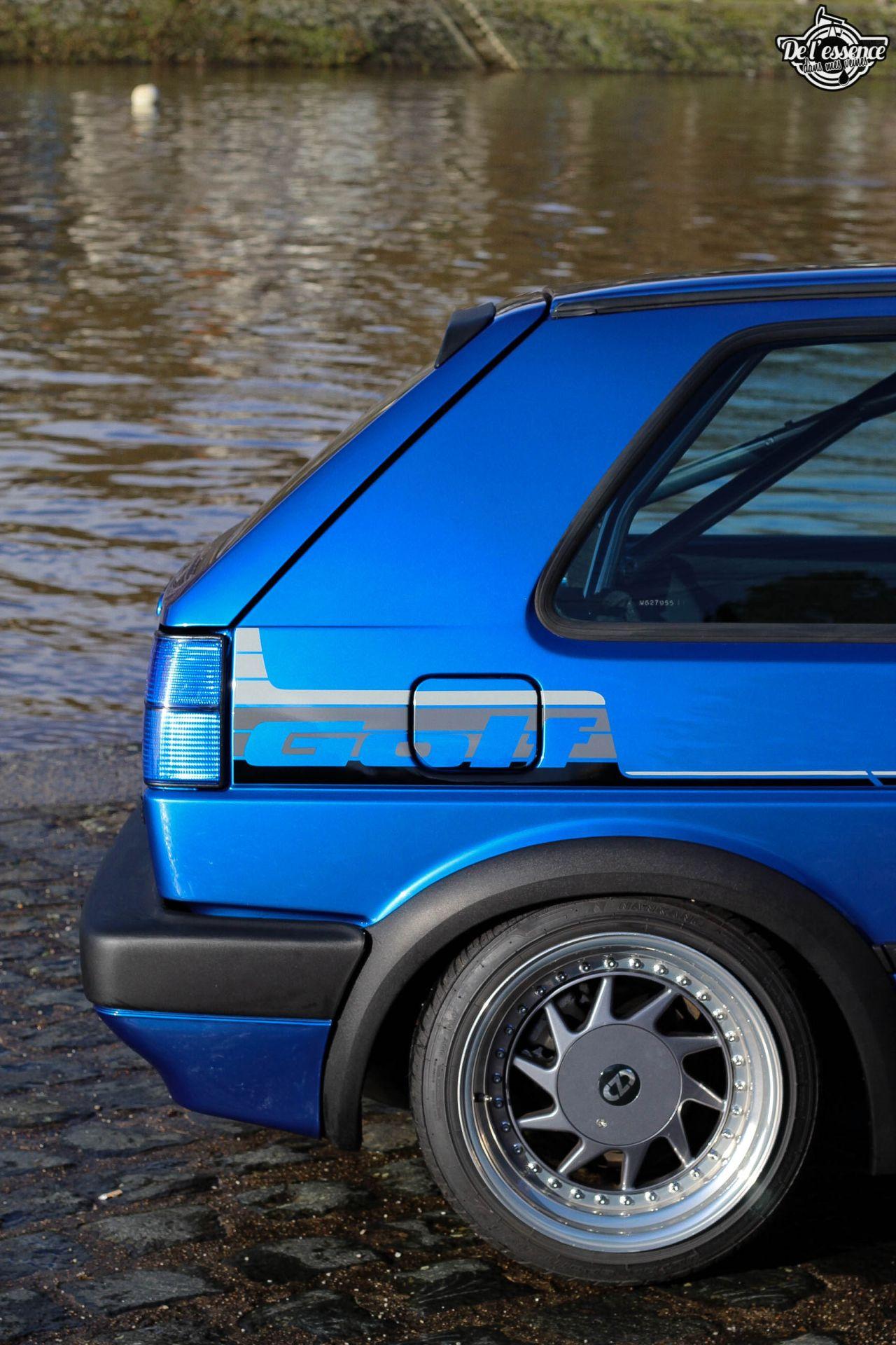 La Golf II swap III GTI 16s de Florian - Et pourtant j'aime pas les Golf ! 2