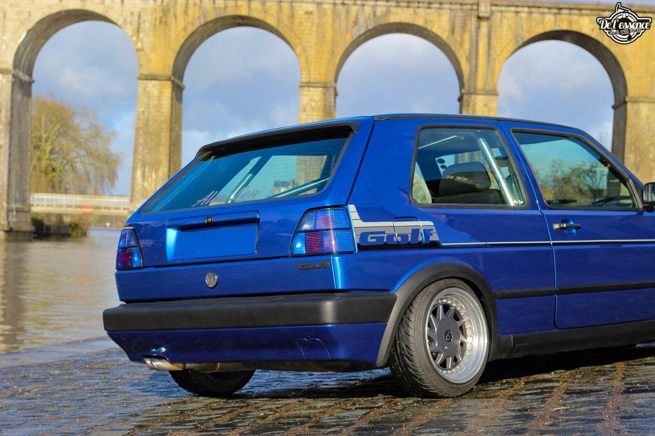 La Golf II swap III GTI 16s de Florian - Et pourtant j'aime pas les Golf ! 8