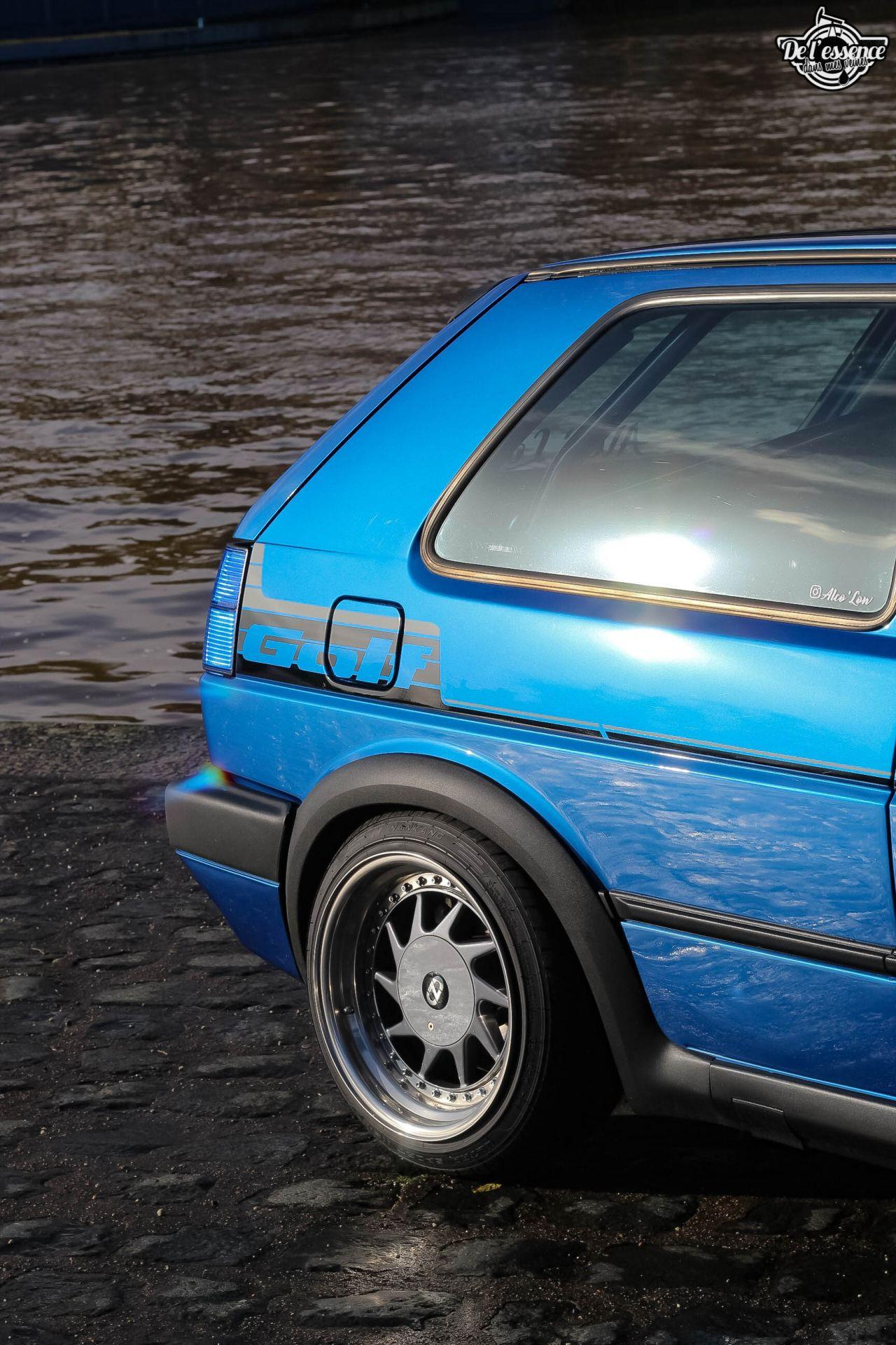 La Golf II swap III GTI 16s de Florian - Et pourtant j'aime pas les Golf ! 10