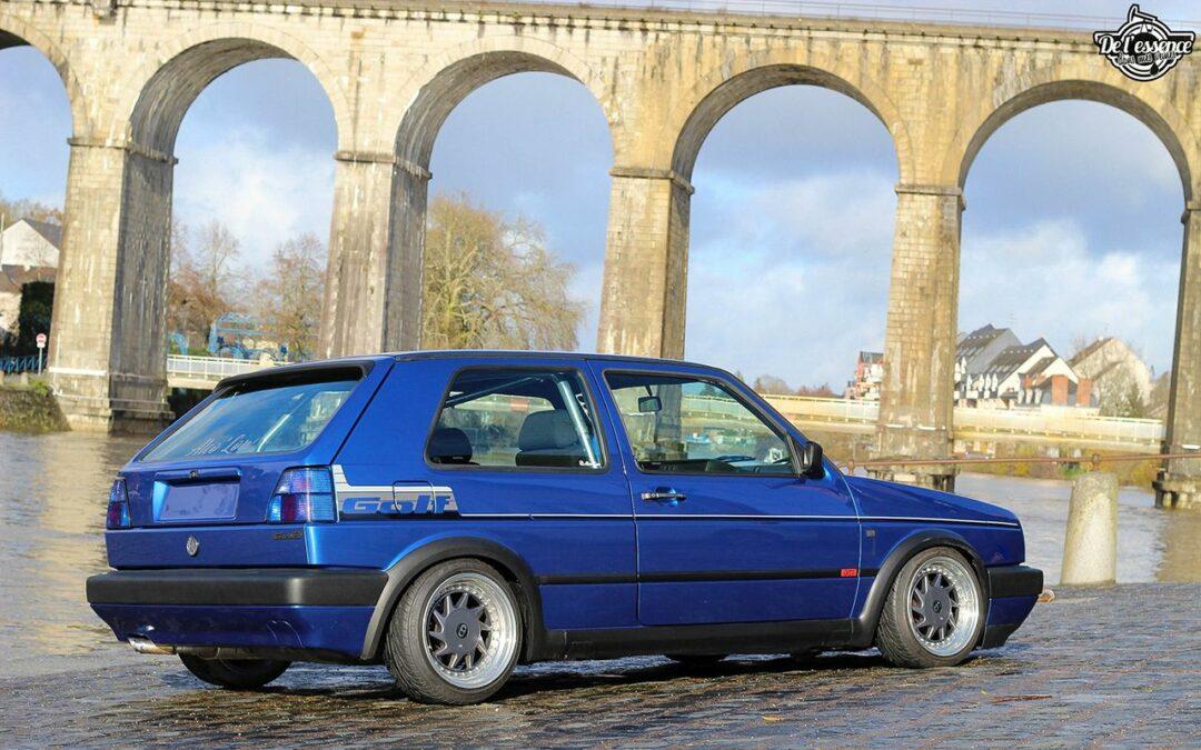 La Golf II swap III GTI 16s de Florian – Et pourtant j'aime pas les Golf !