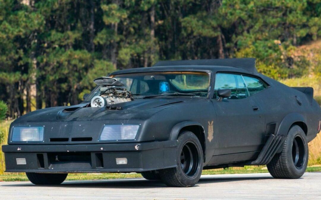#Car Mytho : L'interceptor de Mad Max… Du cuir et du petrol !
