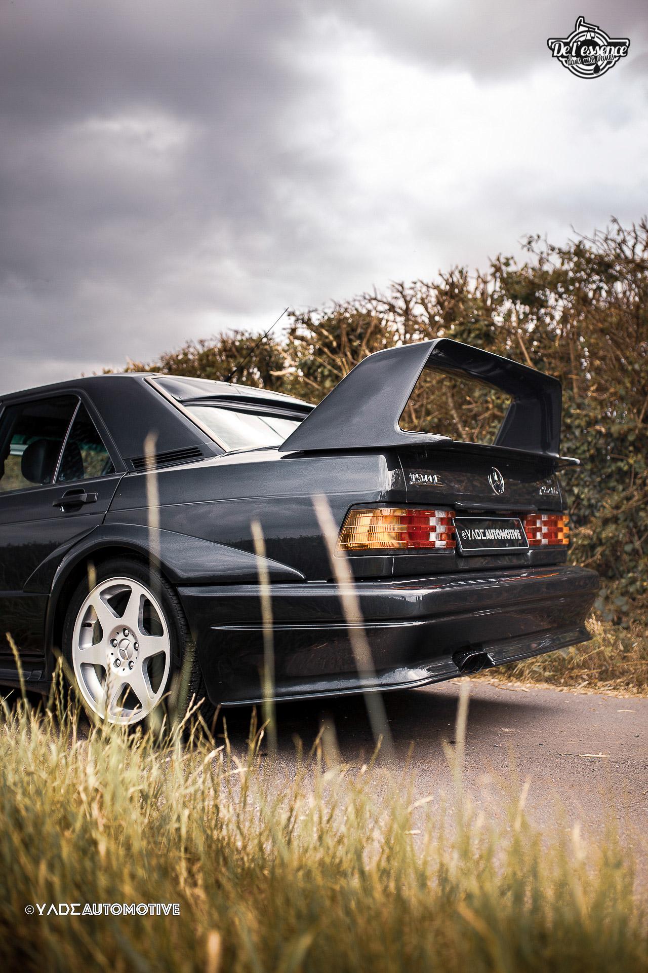 Mercedes 190 Evo 2 - L'étoile noire ! 11