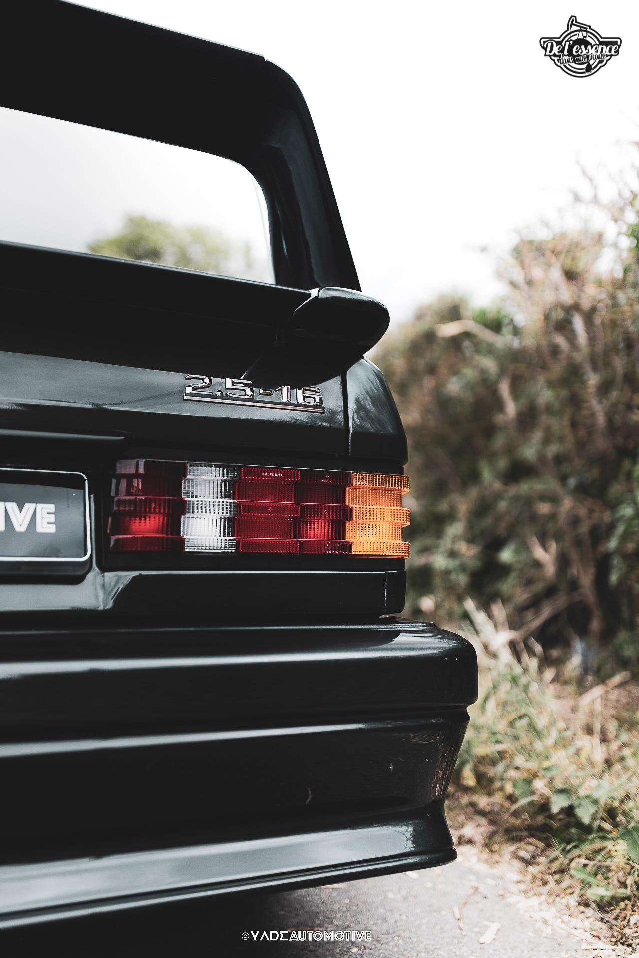 Mercedes 190 Evo 2 - L'étoile noire ! 15