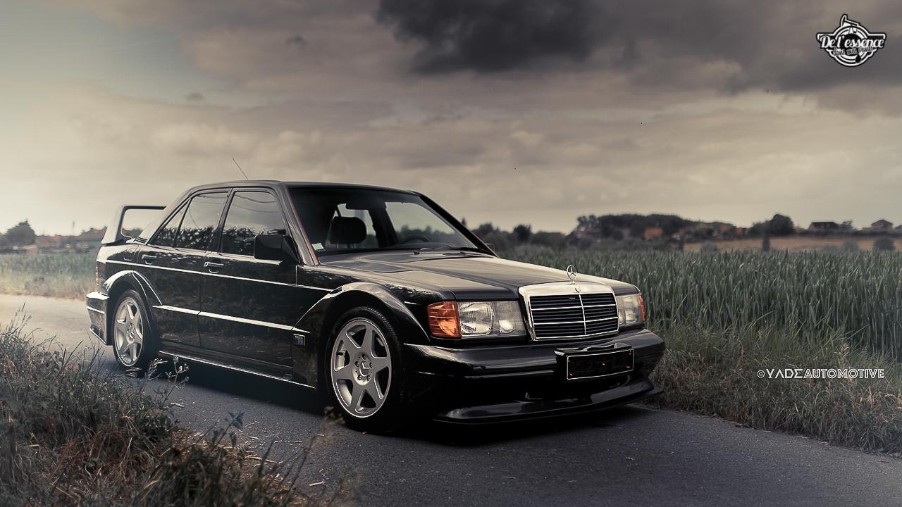 Mercedes 190 Evo 2 - L'étoile noire ! 8