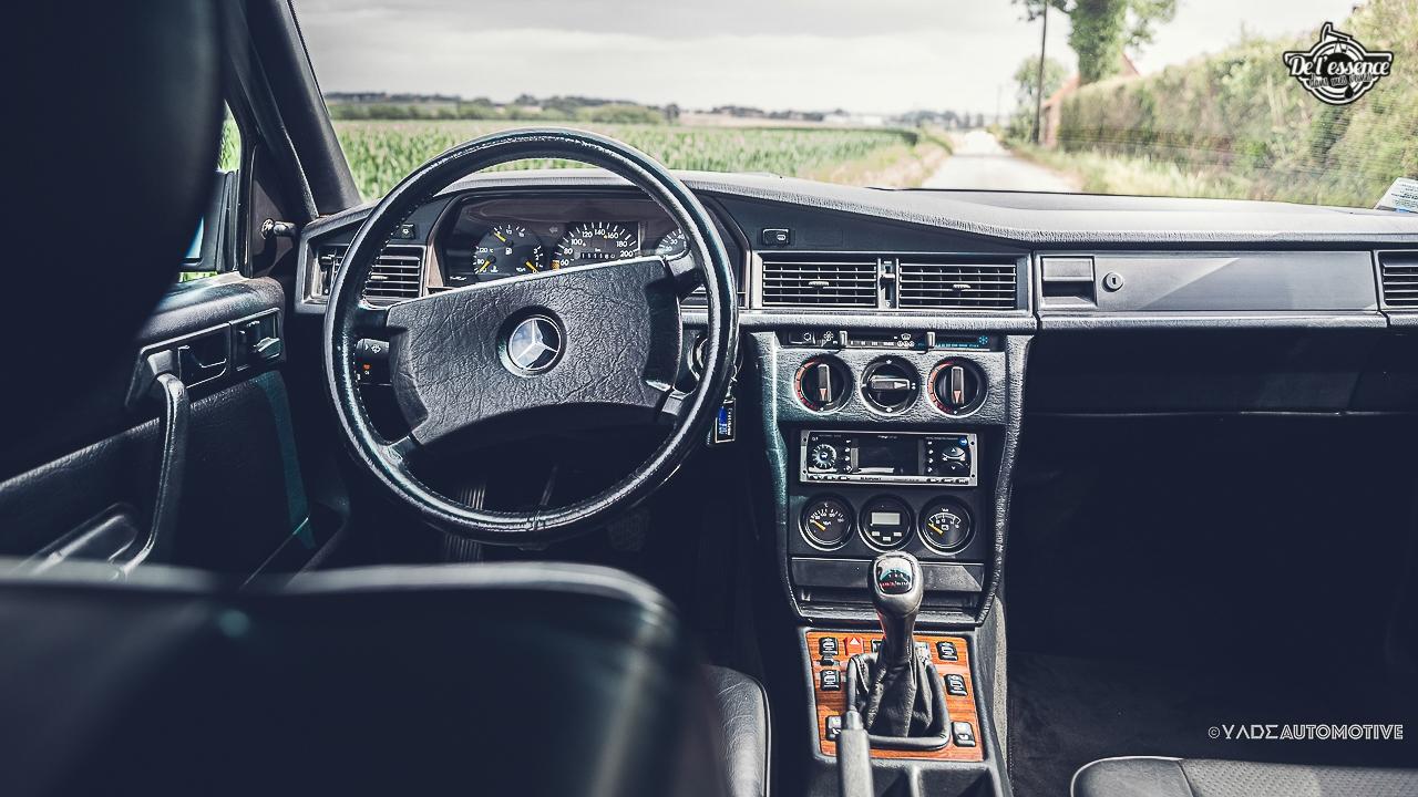 Mercedes 190 Evo 2 - L'étoile noire ! 10