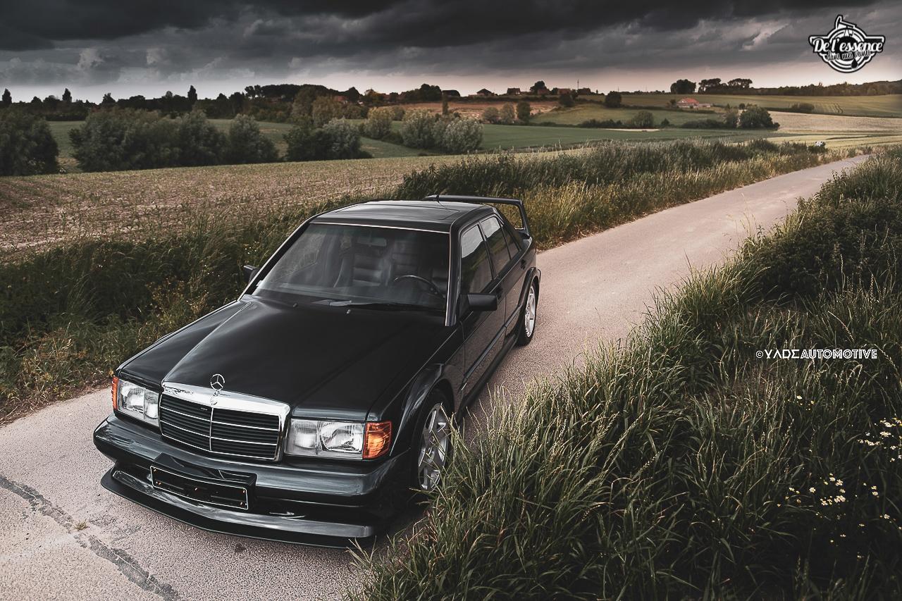 Mercedes 190 Evo 2 - L'étoile noire ! 13