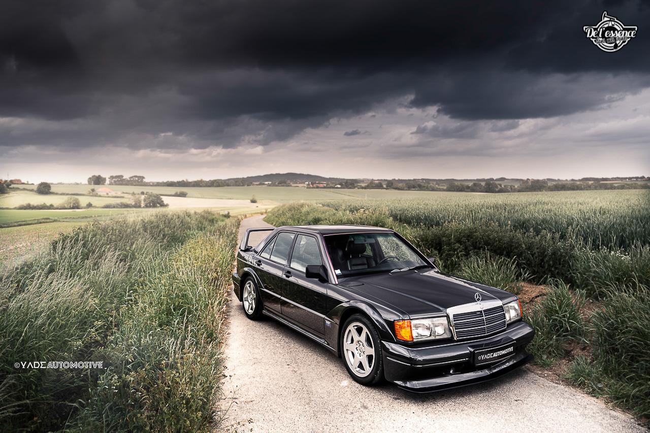 Mercedes 190 Evo 2 - L'étoile noire ! 12