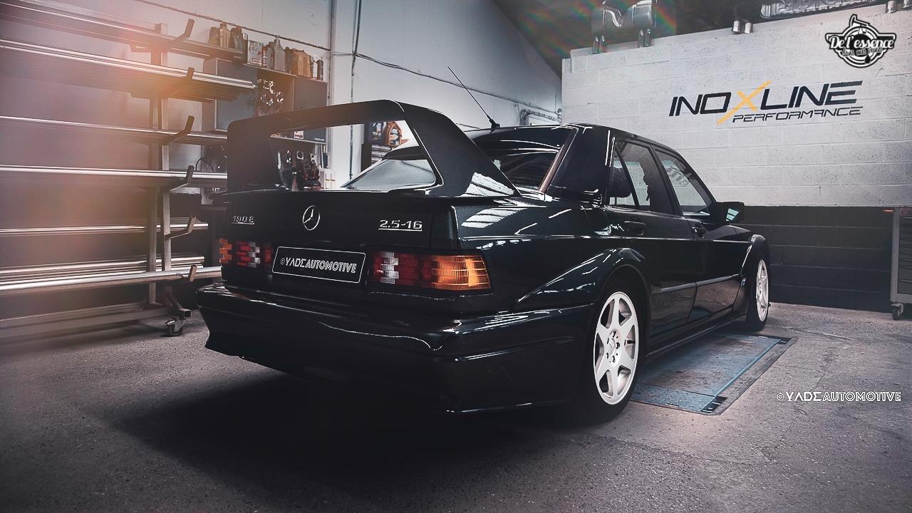 Mercedes 190 Evo 2 - L'étoile noire ! 2