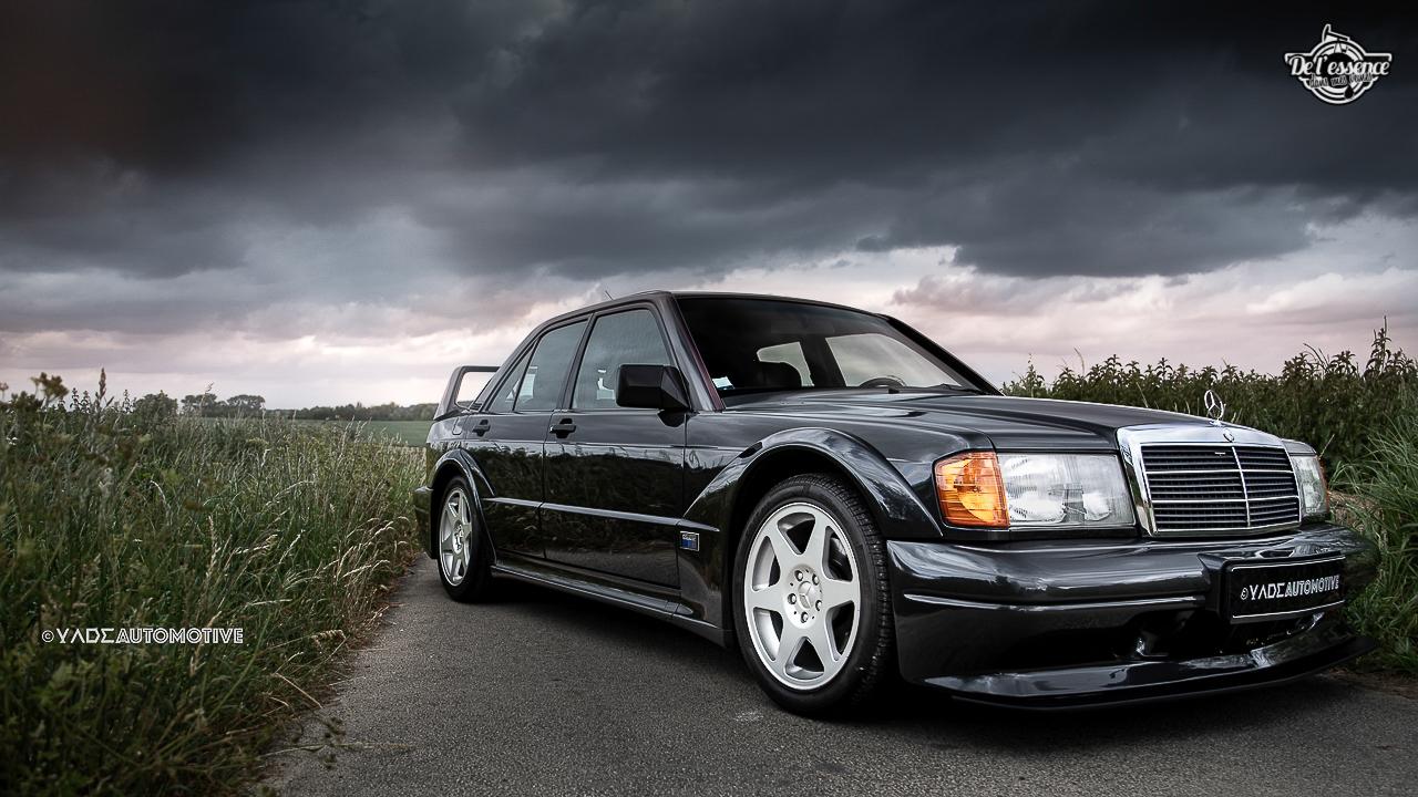 Mercedes 190 Evo 2 - L'étoile noire ! 4