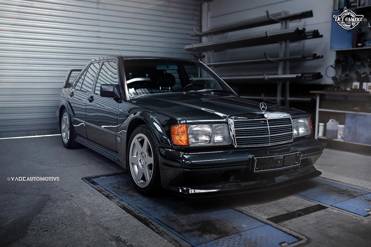 Mercedes 190 Evo 2 - L'étoile noire ! 5