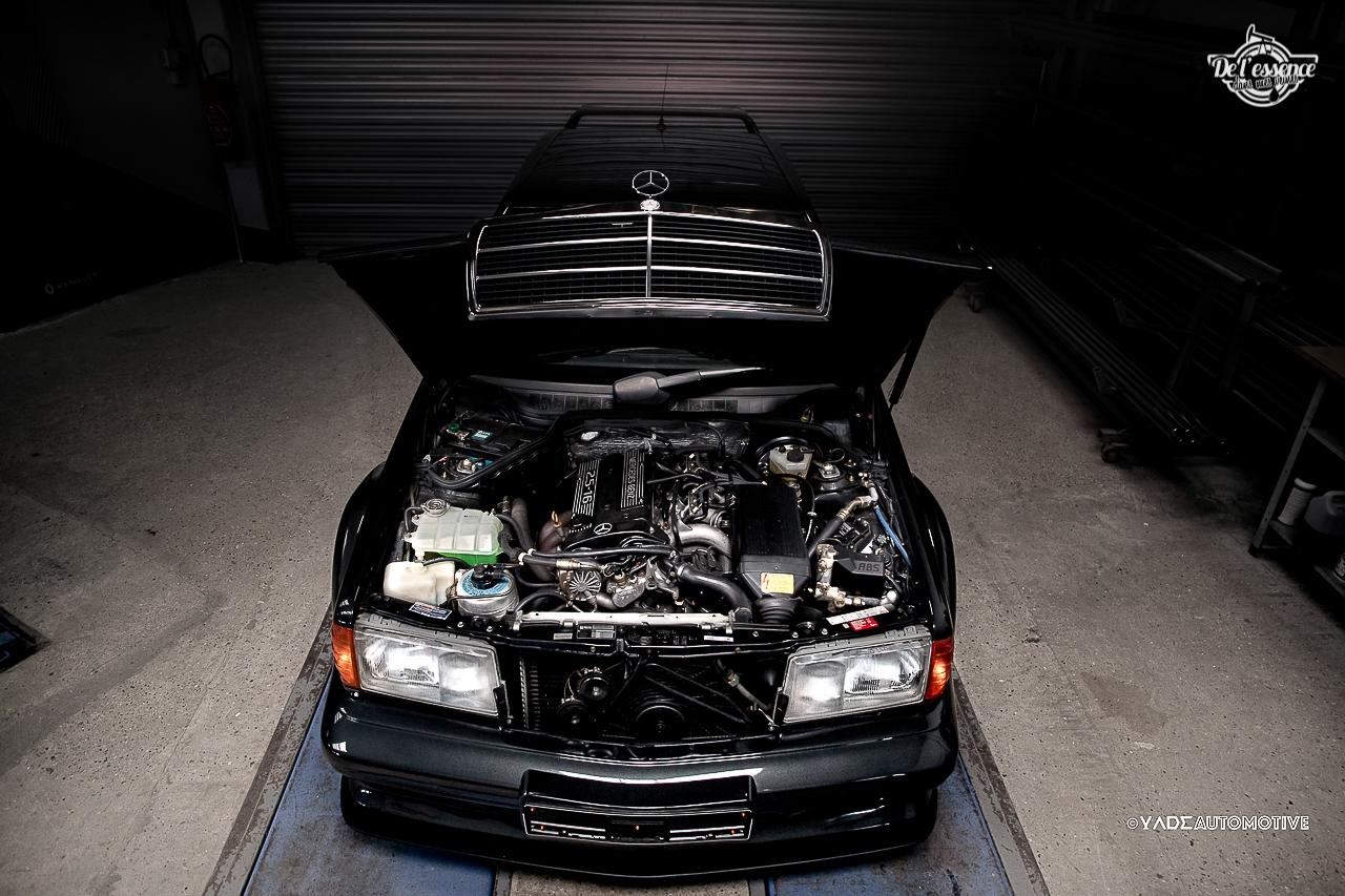 Mercedes 190 Evo 2 - L'étoile noire ! 6