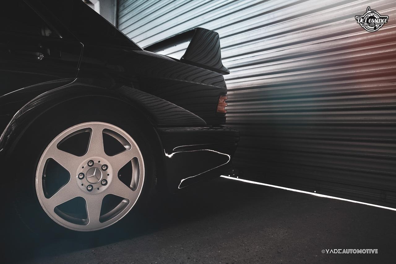 Mercedes 190 Evo 2 - L'étoile noire ! 7