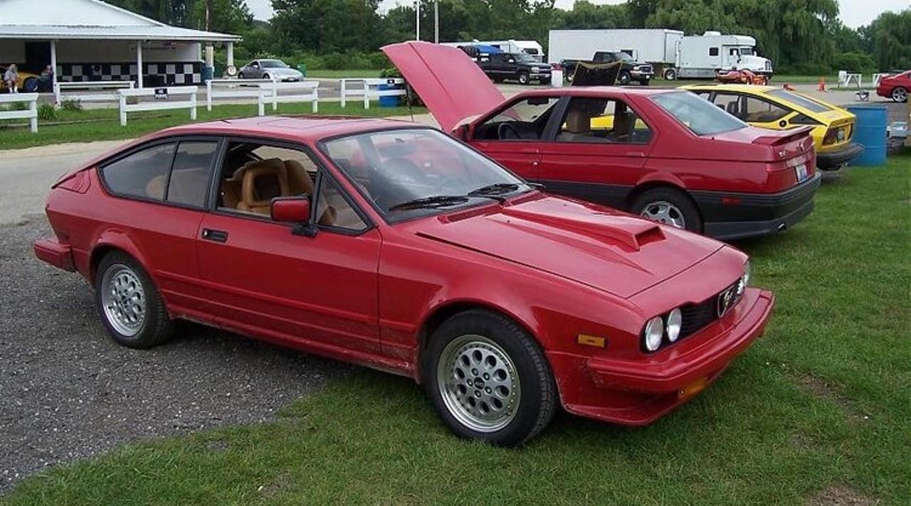 Alfa GTV6 Callaway... Busso Biturbo ! 10